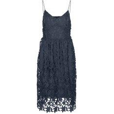 Vero Moda Dámské šaty VMVALERIE Slim Fit 10254325 Ombre Blue (Velikost S)