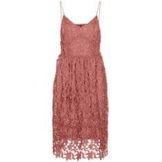 Vero Moda Ženska obleka VMVALERIE Slim Fit 10254325 Old Rose (Velikost S)
