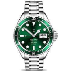 Wotchi Smartwatch W69SGN - Silver+Green