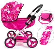 Bayer Design Cosy voziček za lutke, roza