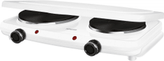 SENCOR dvojplatničkový varič SCP 2271WH-EUE4