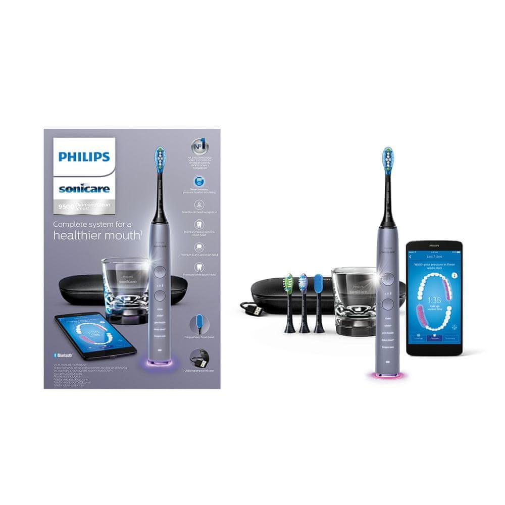 Philips Sonicare DiamondClean Smart Silver HX9924/47