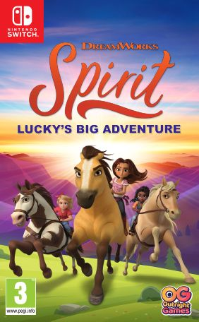 Outright Games Spirit: Lucky's Big Adventure (Nintendo Switch)