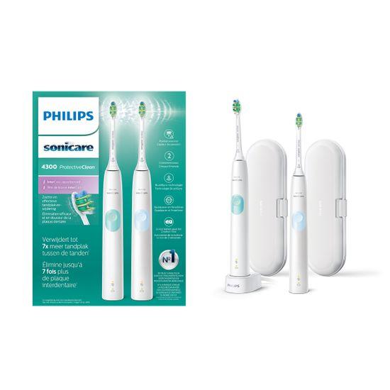 Philips Sonicare HX6809/35 ProtectiveClean White 1 + 1