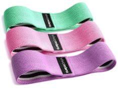 VivoVita Body Fit Bands - 3 delni set vadbenih elastik