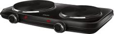 SENCOR dvojplatničkový varič SCP 2254BK-EUE4