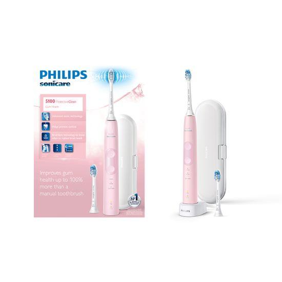 Philips Sonicare ProtectiveClean 5100 sonična električna zobna ščetka (HX6856/17)