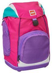 LEGO šolski nahrbtnik Pink/Purple Nielsen
