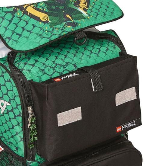 LEGO Ninjago Green Optimo šolski nahrbtnik, 2-delni set