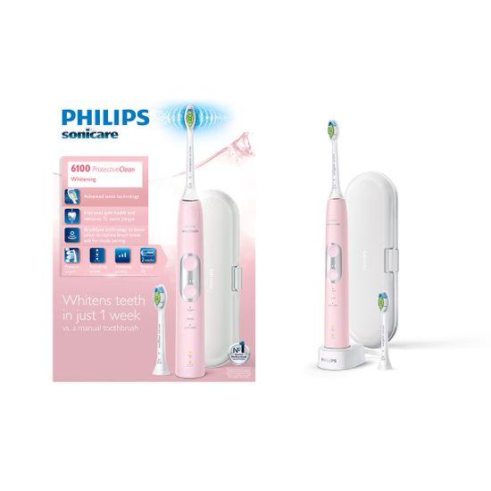 Philips Sonicare ProtectiveClean 6100 sonična električna zobna ščetka (HX6876/29)