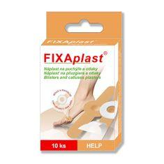 Fixaplast Náplasť FIXAPLAST HELP (na pľuzgiere) 10 ks