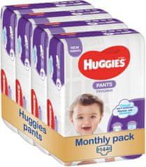 Huggies pieluchomajtki Pants 4 (9-14 kg) Jumbo 144 szt. (4x36 szt.) - opakowanie miesięczne