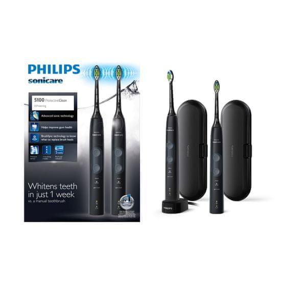 Philips Sonicare ProtectiveClean 5100 sonična električna zobna ščetka (HX6850/34)
