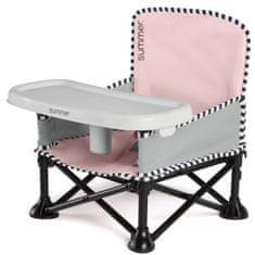 Summer Infant otroški prenosni stolček Pop ´n Sit, Pink/roza
