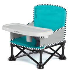 Summer Infant otroški prenosni stolček Pop ´n Sit, Aqua