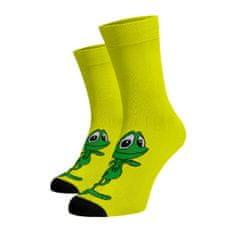 BENAMI Veselé ponožky Žabák Žlutá 45-46