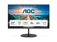 AOC Q24V4EA Value-line LED monitor, 60,4 cm (23,8), QHD, IPS