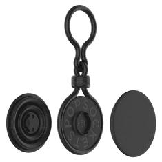 PopSockets PopChain, přívěšek pro 2 výměnné vršky, plastový, černý