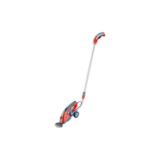 EXTOL Premium aku nůžky na trávu a živé ploty, s teleskopickou násadou, 7,2V Li-ion, 1,5Ah