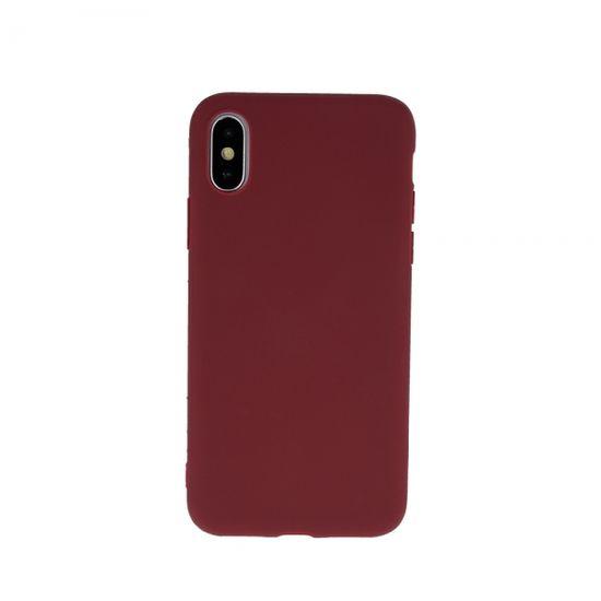 Ovitek za Nokia 3.4, silikonski, mat rdeč