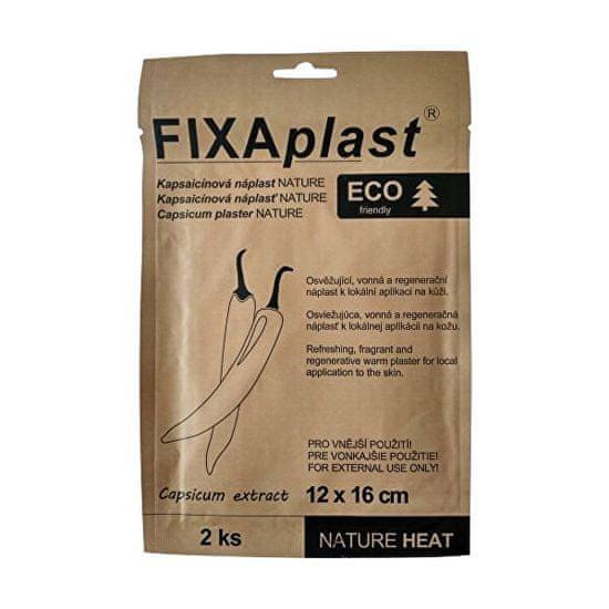 Fixaplast Kapsaicinová náplasť NATURE HEAT, 2 ks