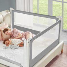 Choc Chick Zábrana na postel Monkey Mum 200 cm - tmavě šedá - design