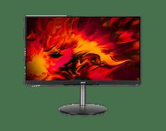 Acer Nitro XF273S monitor, 68,58 cm (27), FHD, IPS, 165 Hz, FreeSync Premium, HDR10, 2 ms, zvočniki (UM.HX3EE.S08)