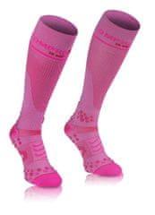 Compressport Kompresní podkolenky Full Socks V2.1, růžová, 4L