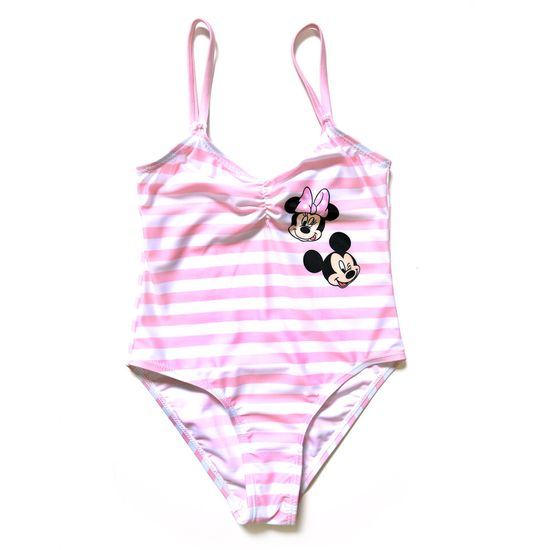 "Eplusm Dekliške enodelne kopalke ""Minnie Mouse"" - roza"