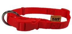 BAFPET ovratnica za pse, rdeča, vel XXL
