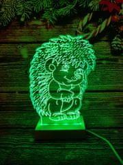 LANDX Světelná LED dekorace – Ježek