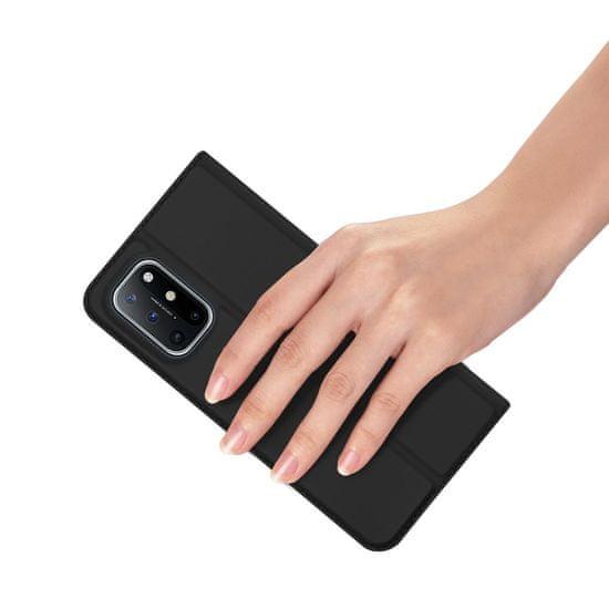 Dux Ducis Skin Pro knjižni usnjeni ovitek za OnePlus 8T, črna
