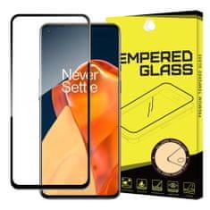 MG Full Glue Super Tough zaščitno steklo za OnePlus 9, črna