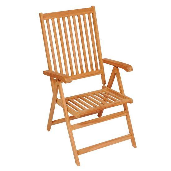 shumee 4 db tömör tíkfa kerti szék levélmintás párnákkal