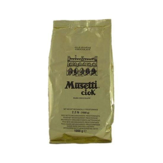 Caffé Musetti horká horúca čokoláda 1kg
