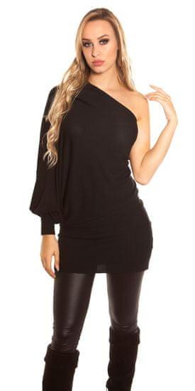 Dámske šaty 71731 + Nadkolienky Gatta Calzino Strech, čierna, UNIVERZáLNA