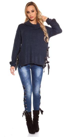 Női kardigán 71873 + Nőin zokni Gatta Calzino Strech