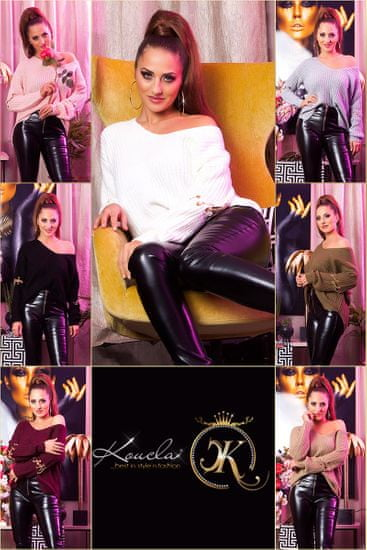 Női blúz 72198 + Nőin zokni Gatta Calzino Strech