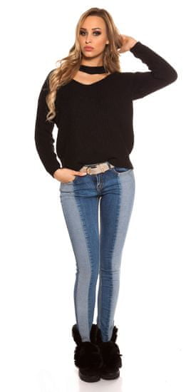 Női blúz 72215 + Nőin zokni Gatta Calzino Strech