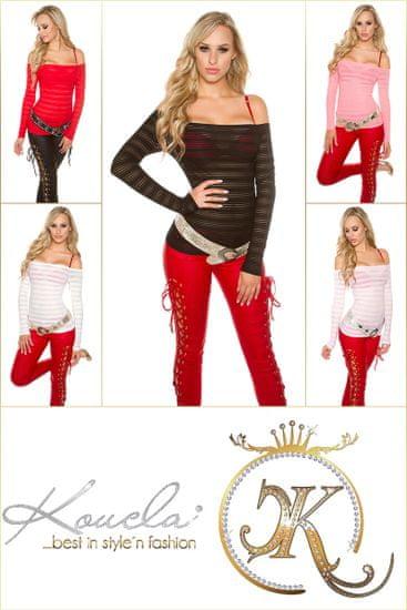 Női blúz 72766 + Nőin zokni Gatta Calzino Strech, rózsaszín, XL