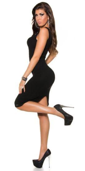 Női ruha 73473 + Nőin zokni Gatta Calzino Strech, fekete, UNIVERZáLIS