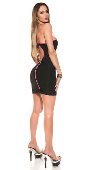 Női ruha 74015 + Nőin zokni Gatta Calzino Strech, fekete, UNIVERZáLIS
