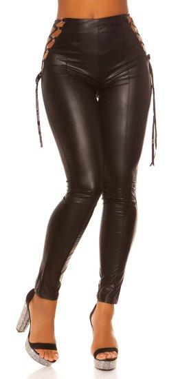 Női leggingsz 74656 + Nőin zokni Gatta Calzino Strech, fekete, UNIVERZáLIS