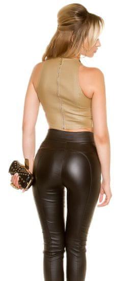 Női trikó 75245 + Nőin zokni Gatta Calzino Strech, bézs, L