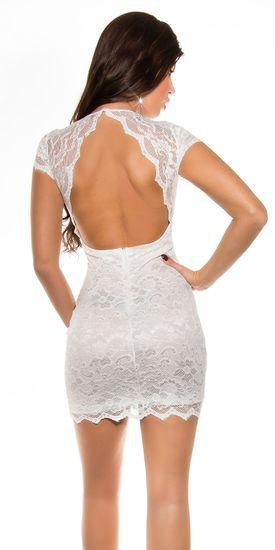 Dámske šaty 75294, biela, L