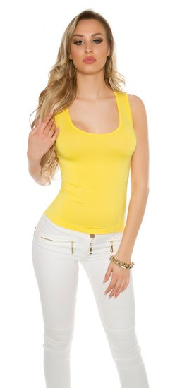 Dámske tielko 75759 + Nadkolienky Gatta Calzino Strech, žltá, UNIVERZáLNA