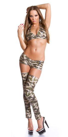 Női rövidnadrág 76010 + Nőin zokni Gatta Calzino Strech, többszínű, UNIVERZáLIS