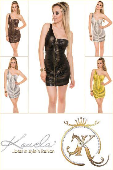 Dámske šaty 77379, čierna, UNIVERZáLNA