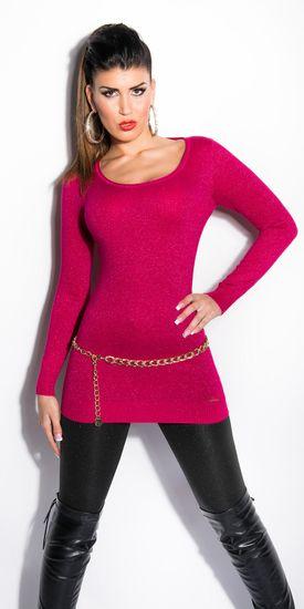 Női kardigán 77540 + Nőin zokni Gatta Calzino Strech, rózsaszín, UNIVERZáLIS