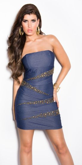 Dámske šaty 77656 + Nadkolienky Gatta Calzino Strech